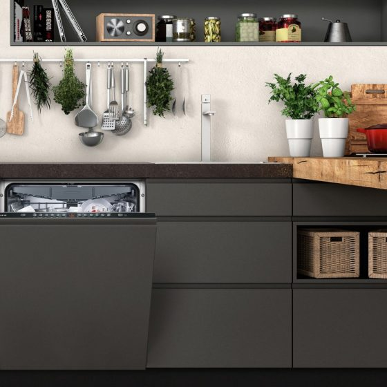 Integrated dishwashers for all kitchens